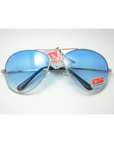 Rayban 3025 Damla Gümüş Çerçeve Mavi Blue Cam Güneş Gözlüğü