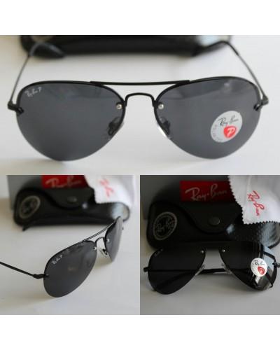Rayban 3349 Çerçevesiz Model Polis Gözlüğü Polarize Gözlük