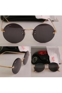 Rayban Lennon New Tarz Yeni Model Gold Çerçeve Siyah Cam Unisex Güneş Gözlüğü