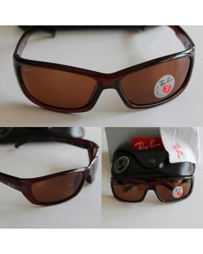 Rayban 3185 Spor Kemik Model Kahverengi Polarize Güneş Gözlüğü