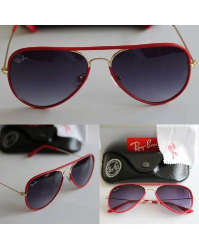 Ray-Ban 3025 Damla Kaplamalı Kırmızı Siyah Unisex Gözlük
