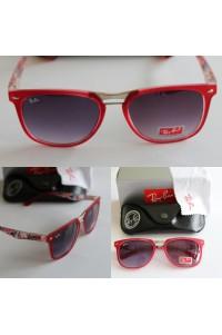 Ray-Ban Wayfarer Tarz Kırmızı Unisex Gözlük