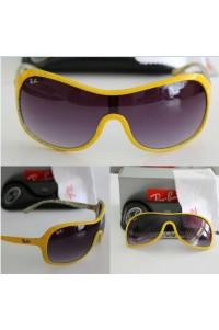 Rayban 4125 Sarı Çerçeve Unisex Güneş Gözlüğü