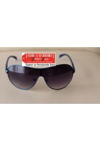 Emporio Armani 3987 L62-427 Mavi Çerçeve Siyah Cam Güneş Gözlüğü