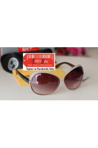 Rayban 4098 Bihter Model Kahve Alacalı Çift Renk Güneş Gözlüğü